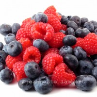Fresh berries in a pile